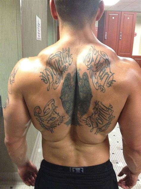 chest tattoo gym pin by tony miller on nick bennett pinterest