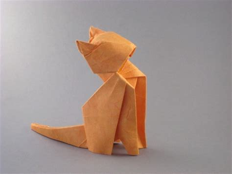 Origami Cat - tanteidan 14th convention book review gilad s origami page