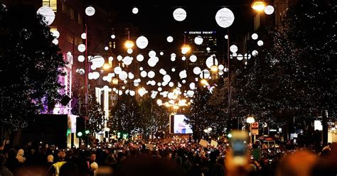 where to see the christmas light switch on in london and