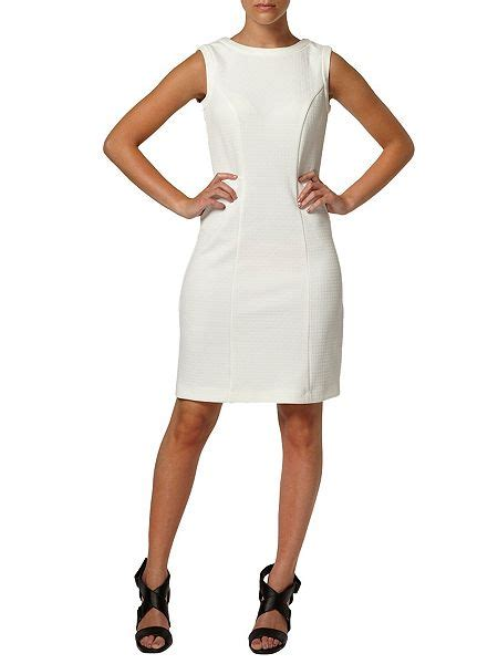 Dress Of The Day Dorothy Perkins Jaquard Shift Dress by Dorothy Perkins Jacquard Slit Back Shift Dress