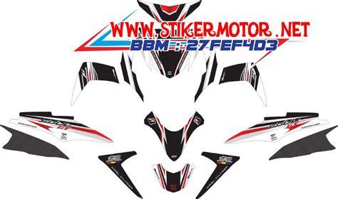 Striping Honda Revo Fit V2 striping motor soul gt hayabusa v2 stikermotor net