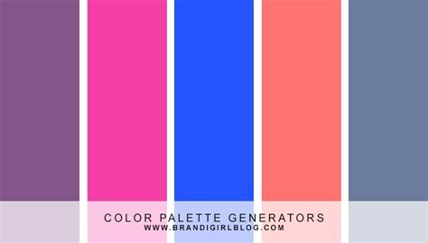 color palette generator from image 17 best ideas about color palette generator on