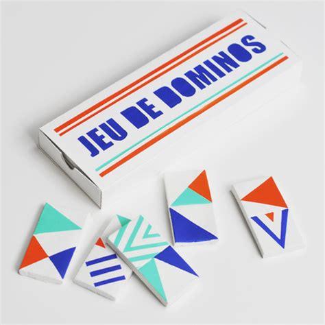 Handmade Dominos - diy geometric dominos karine fortier