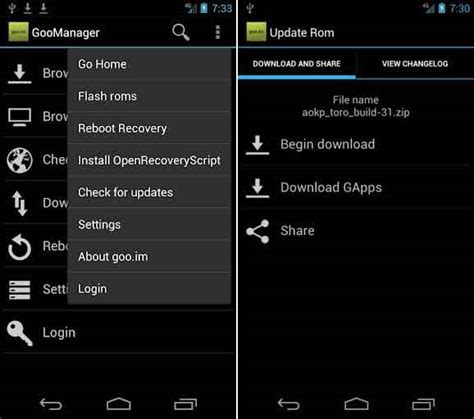 goo manager apk 42 must try apps for rooted android phones 2018