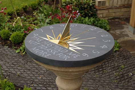 Pedestal Clock They Know The Time Like A Sundial 5 Star Generals
