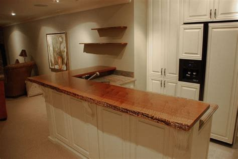 floating bar top floating bar top wood countertop bar height table mid