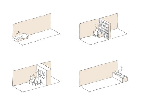 drawer house nendo