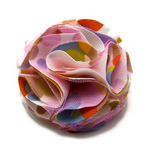 Kancing Kayu Polkadot Pink bros korsase motif crafts