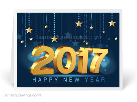 2017 happy new year greeting cards 7529 harrison greetings business greeting cards