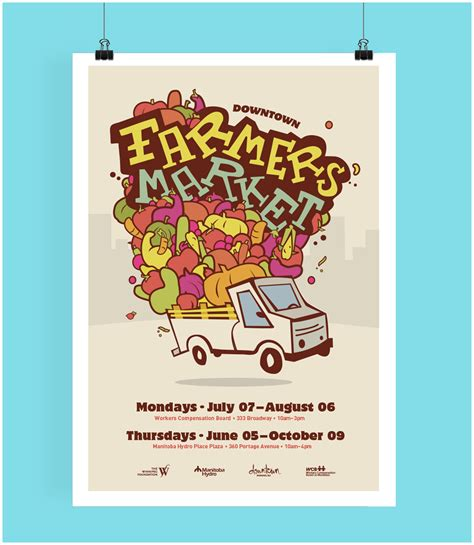 Farmers Market Poster Farmer Foto Collections Caign Poster Template