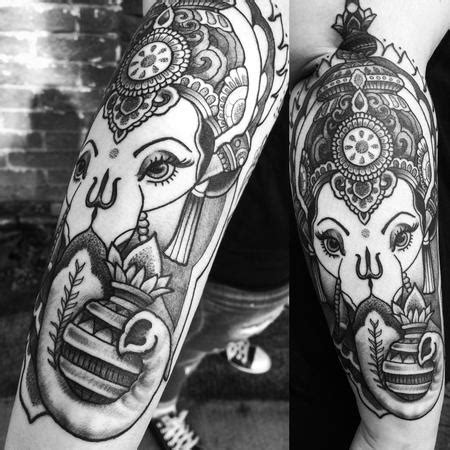 ganesh tattoo traditional tattoo artist picture galleries worldwide tattoo conference