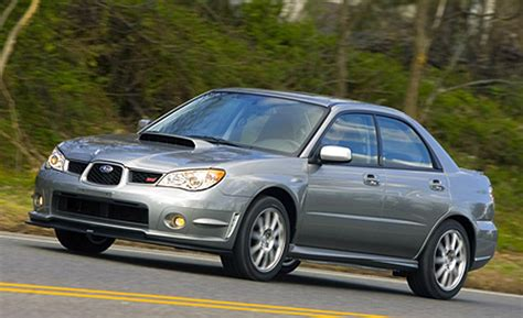 2007 subaru wrx car and driver
