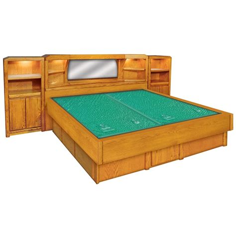 King Size Waterbed Frame Plans Ikea Bed Frame In Beds Waterbed Bed Frame
