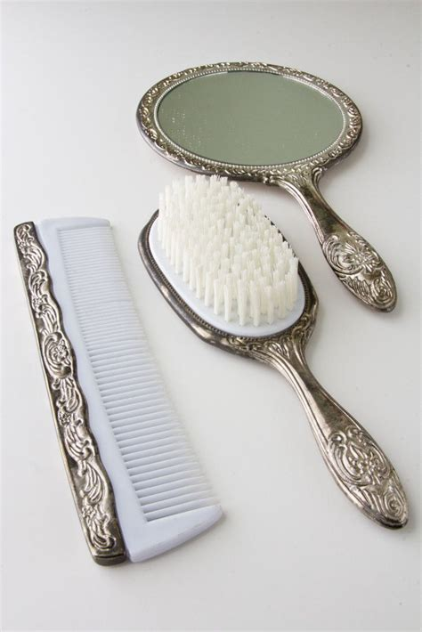 brush and mirror dresser set 897 best mirror brush comb sets images on