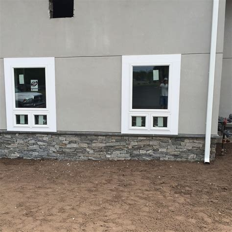 stucco basement walls foundation stucco exterior walls fn masonry