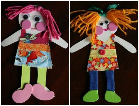 paper doll craft ideas 37 best images about preschool fabric scraps on