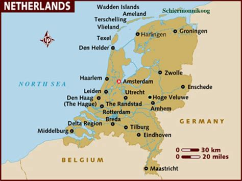 netherlands map facts 5371 away some facts