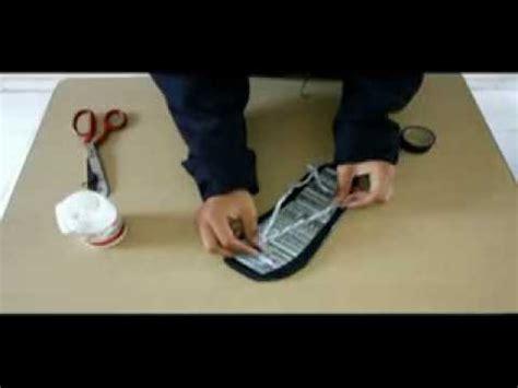 tutorial membuat sandal tidur tutorial membuat sandal dari koran bekas youtube