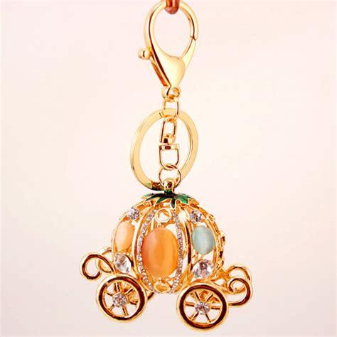 Cinderella Bag Charm cinderella pumpkin carriage diamante rhinestone bag charms handbag keyrings