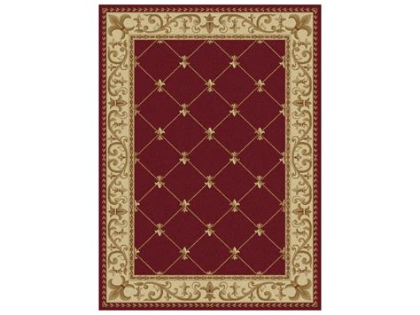 Area Rugs New Orleans Tayse Rugs Sensation Orleans Rectangular Area Rug Ta4880red