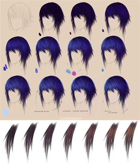 how to color hair purple hair step by step brown by felicemelancholie on