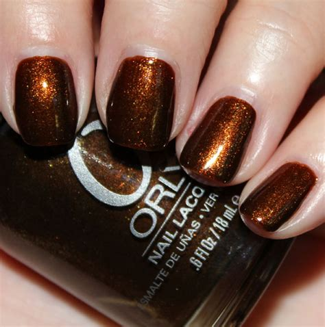 Orly Buried Alive orly shadows collection swatches review vy varnish