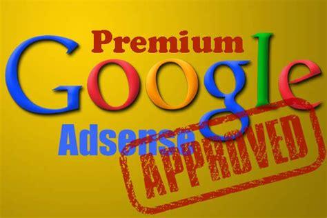 adsense premium cara menjadi publisher google adsense premium