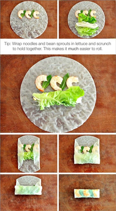 How To Make Rice Paper Wraps - rice paper rolls rolls recipe