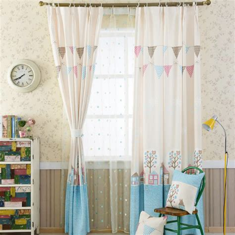 pink patterned curtains online cute pearl pink print patterned cotton and linen kids room