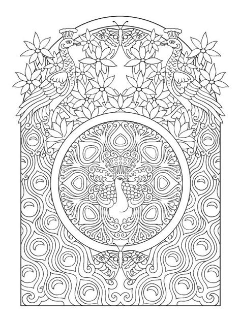 110 best Peacocks Art & Coloring images on Pinterest