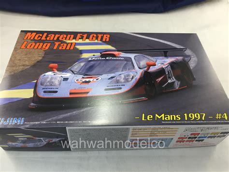 124 Mclaren F1 Gtr 1997 Le Mans 24h fujimi 125817 124 rs 45 mclaren f1 gtr le mans 1997 41