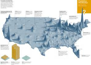 Population Map Usa by What Are Some Amazing Maps Quora
