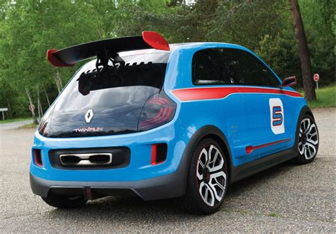 renault concept renault twin run racing concept previews next twingo video