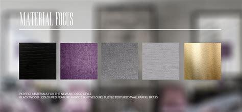 deco interior materials inspiration deco martyn white designs