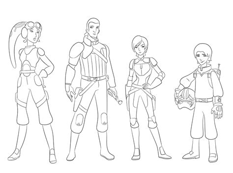 rebels ezra coloring pages coloriage et dessins de wars coloriage wars