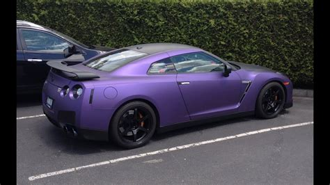 nissan purple purple nissan gtr