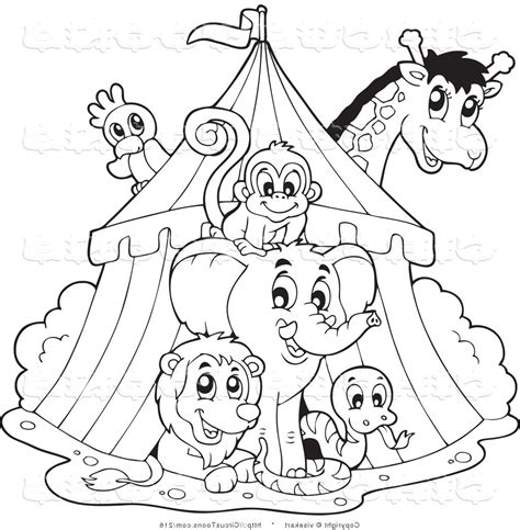 carnival of the animals coloring pages printable kids