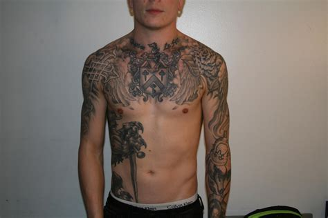 asking alexandria tattoos exclusive cassells of asking alexandria