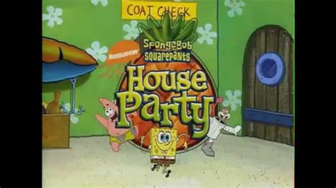 Spongebob S House Party Dvd Deleted Scenes Youtube