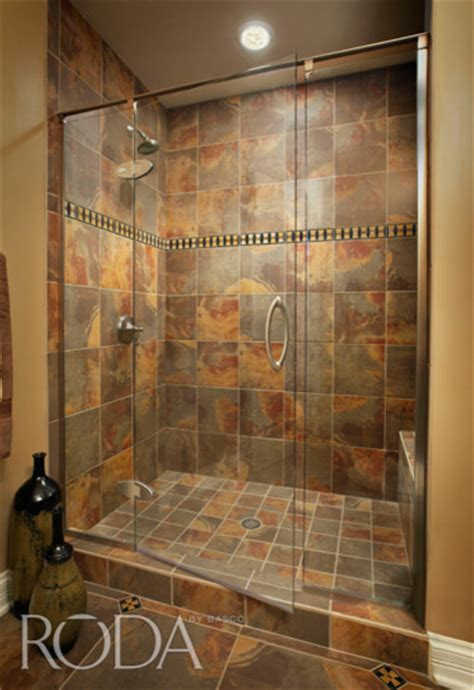 bathroom shower stall designs bathroom designs roda shower enclosures by basco modern shower stalls and kits
