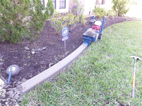 Landscape Edging Concrete Concrete Landscape Edging Be My Guest With
