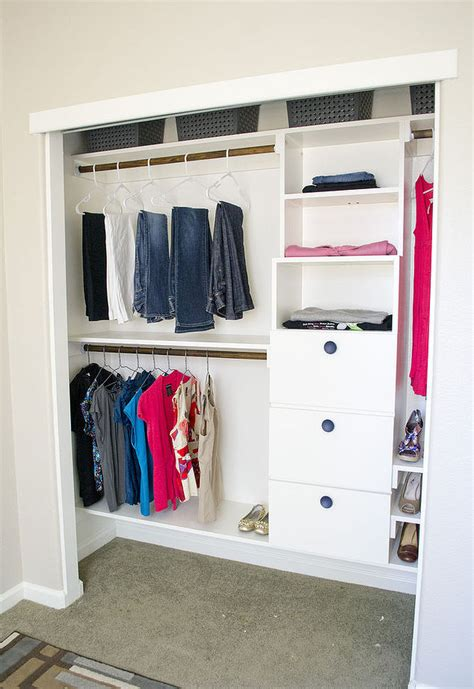 Shelving Units For Small Closets by Closet Shelves Small Closet Organizers Do It Yourself In