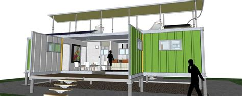 One Story House Plan containerhomes net home