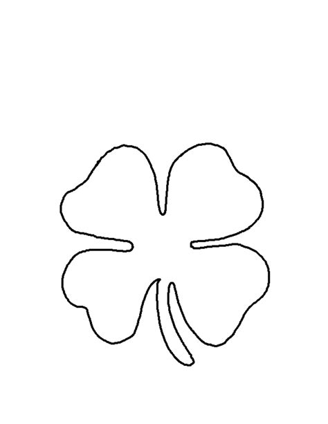 tattoo simple stencils simple four leaf clover tattoos theleaf co