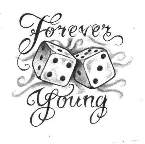 forever young tattoo designs forever design tattoos