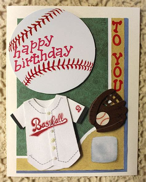 printable birthday cards baseball happy birthday to you card baseball player by