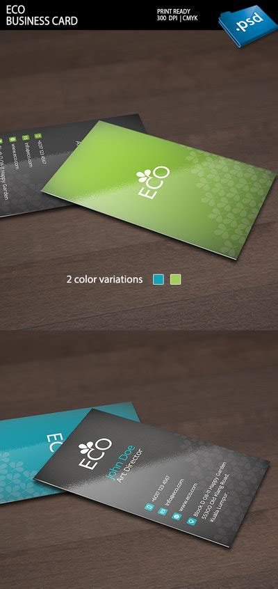 Card Preview by Eco Business Card Preview By Kimi1122 On Deviantart