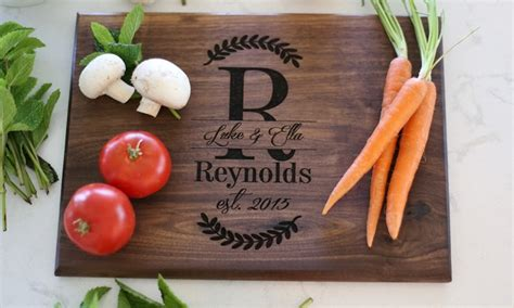 groupon morgann hill design personalized cutting boards morgann hill designs groupon