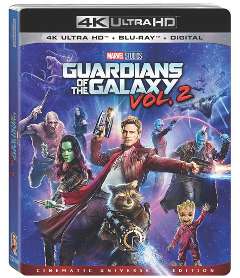 Dvd Guardians Of Galaxy Vol 1 guardians of the galaxy vol 2 4k and dvd release