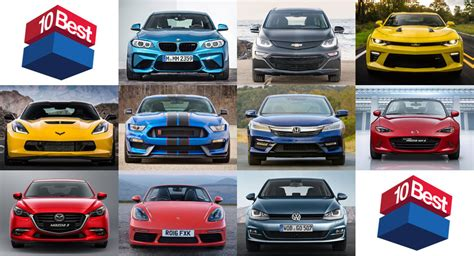 Car Driver 10 Best by Car And Driver Names Its 10 Best For 2017